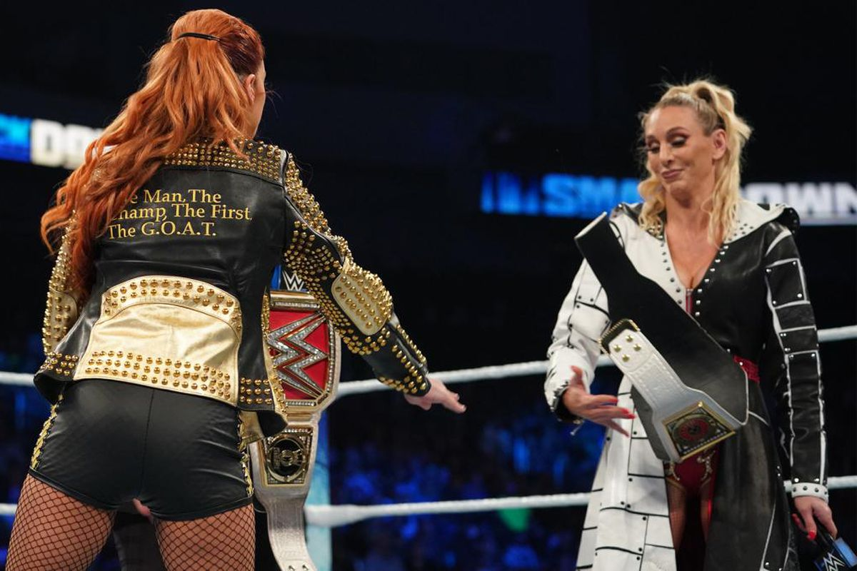 Backstage Heat On Charlotte Flair After Title Exchange Segment On WWE Smackdown 49