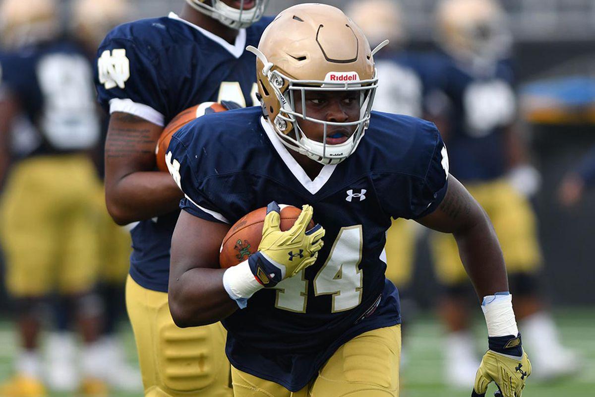 2b45b0cea This Guy Plays Notre Dame Football  44  Jamir Jones - One Foot Down