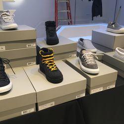Men's sneakers, $199—$279