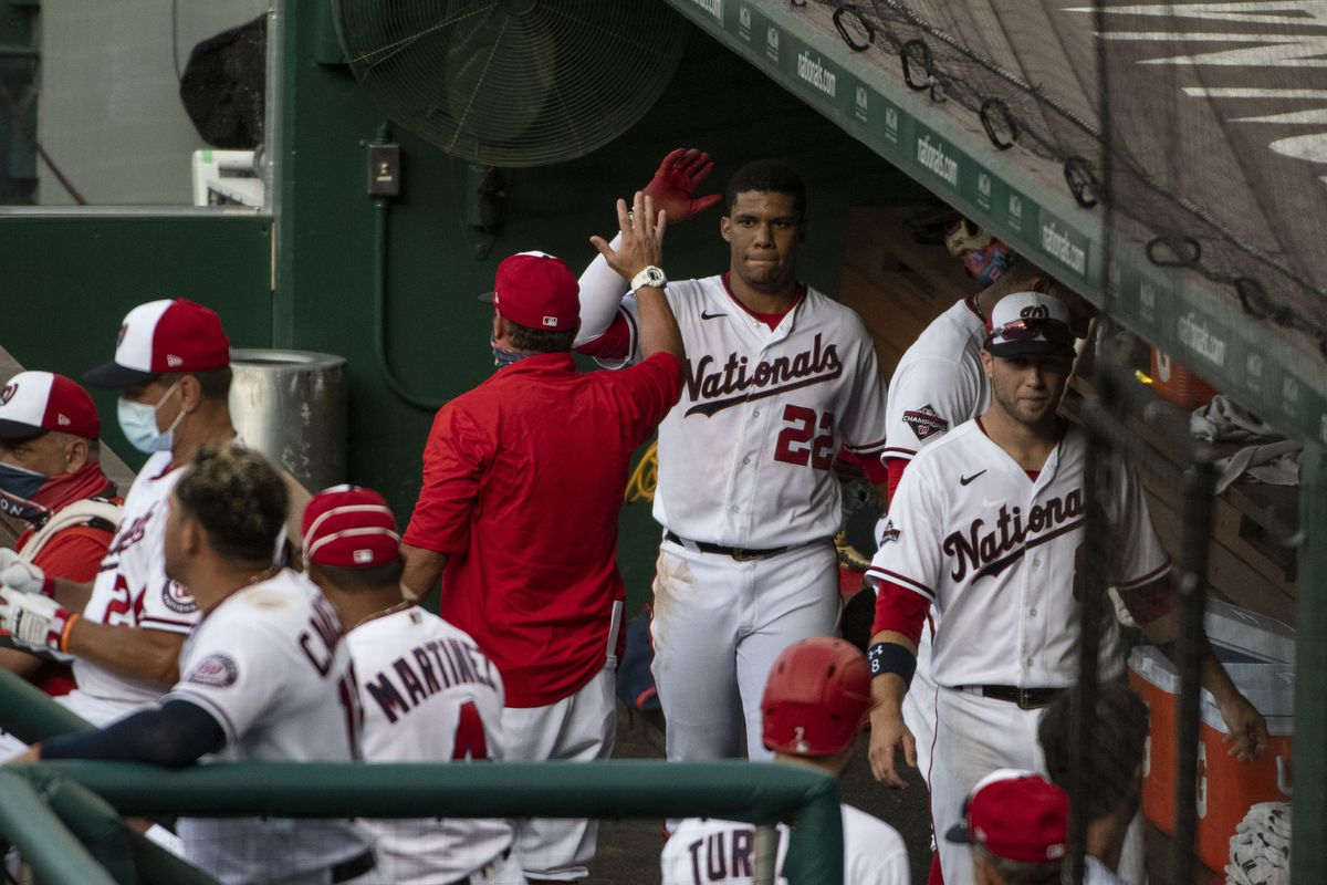 MLB: Exhibition-Baltimore Orioles at Washington Nationals