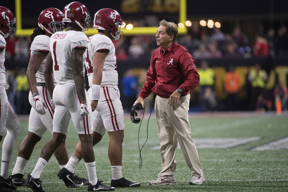 Early 2018 College Football Lines Alabama By 30 Over Louisville