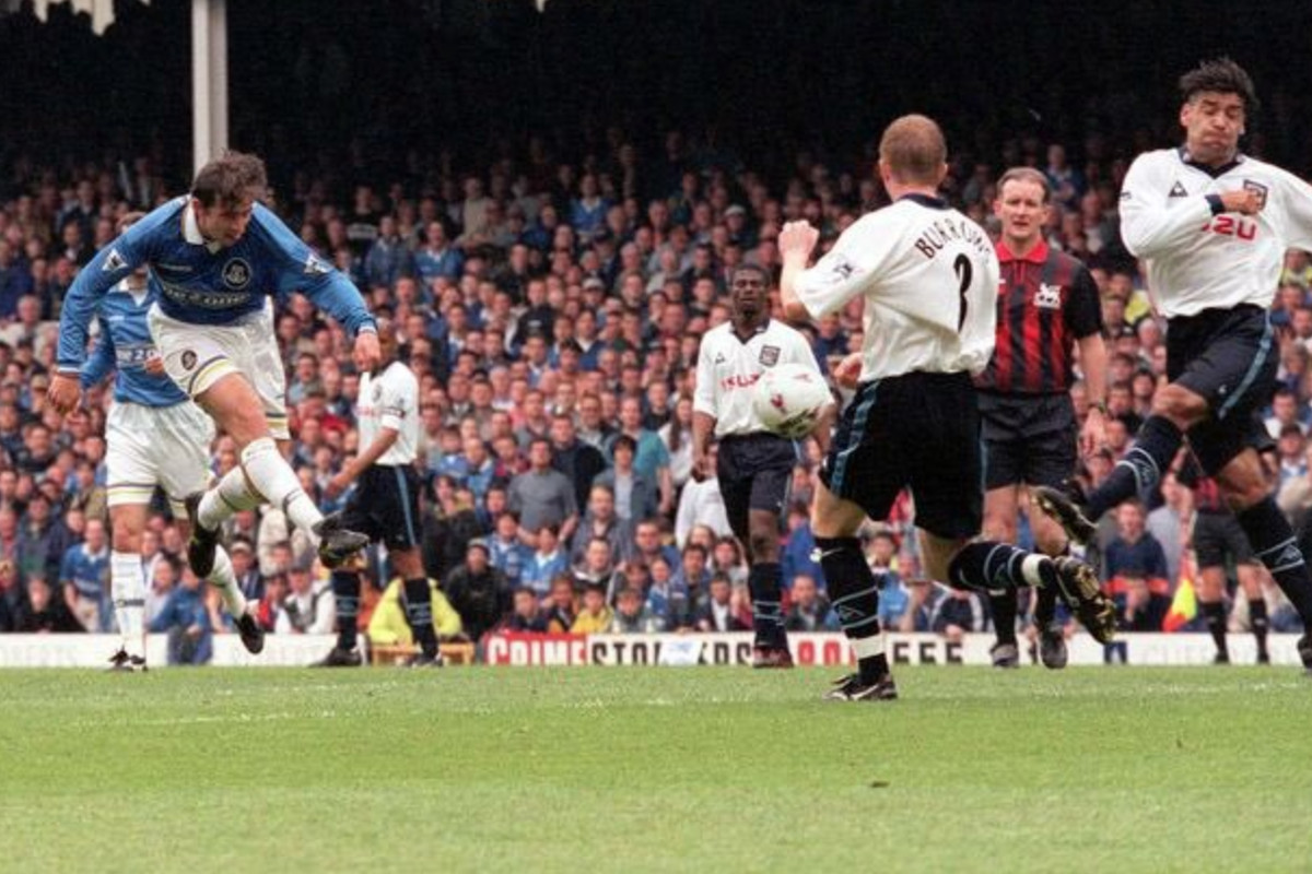 The Great Escape 20 Years On A Look Back At Everton S 1997 98 Season Royal Blue Mersey