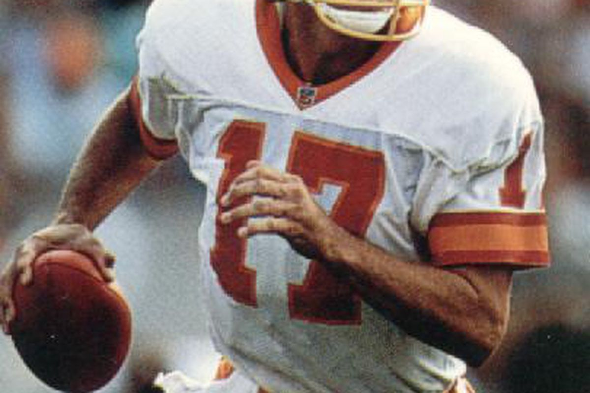 Mr. DeBerg didn't have to face too many first place teams in his day here.