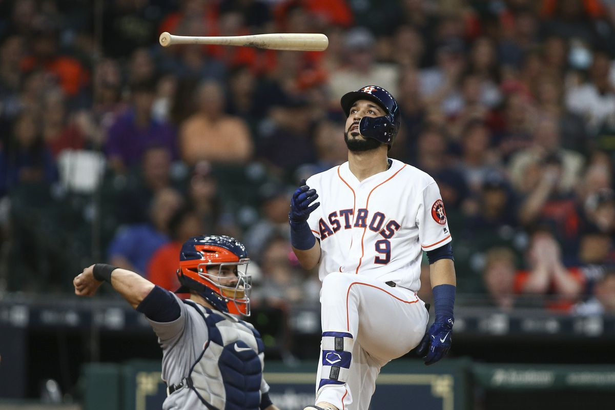 Centeno's homer helps Astros over Tigers 6-2