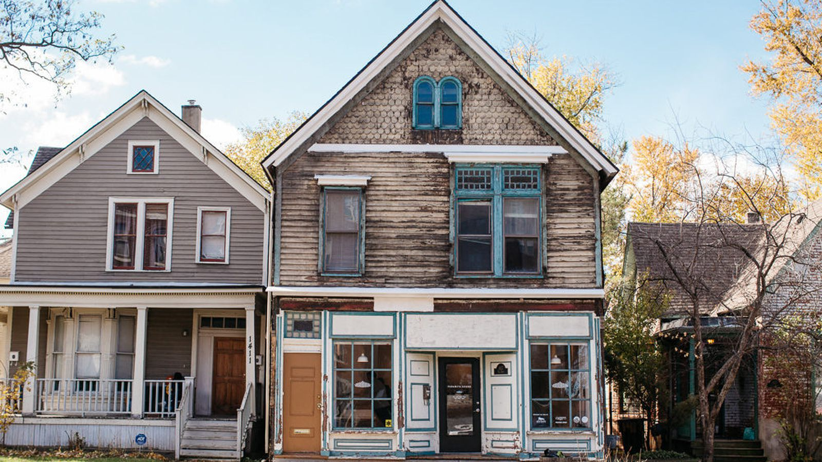 Old west village house becomes neighborhood record shop for Classic house records