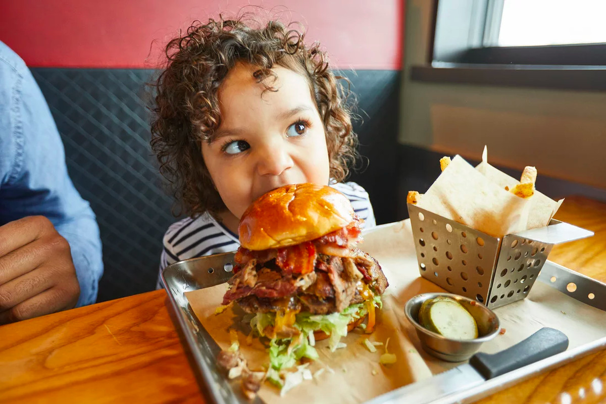 chili's is serving a 1,650-calorie burger topped with baby back ribs