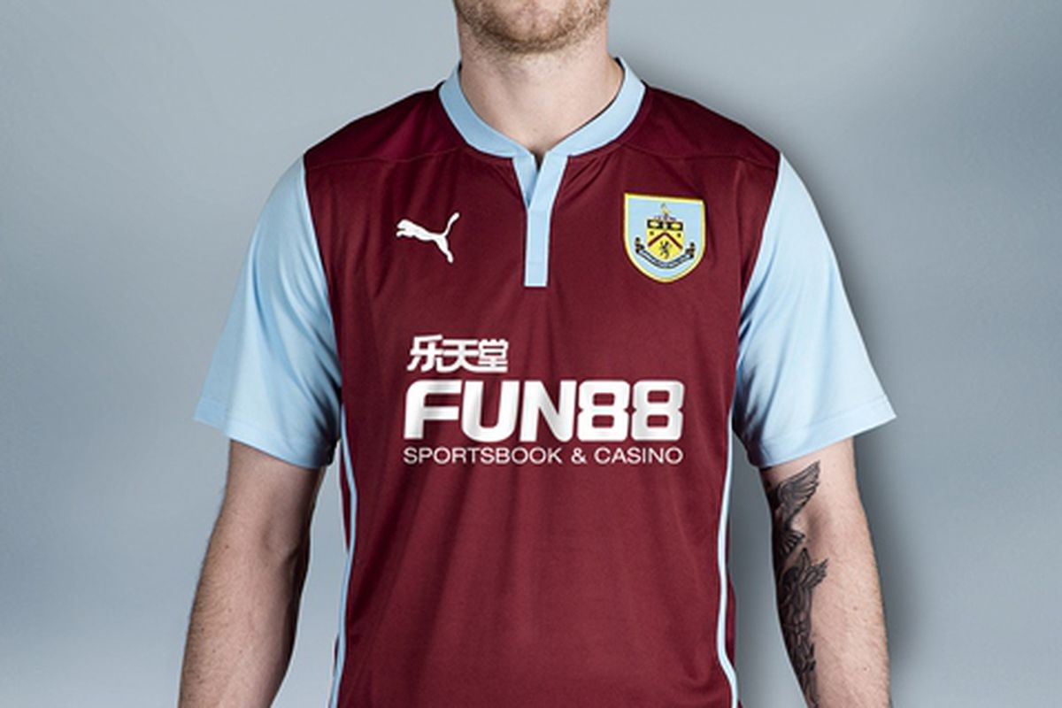 Burnley unveil Premier League return kit with clever youth ...