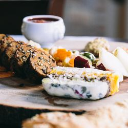 Vegetarian charcuterie in all its glory.