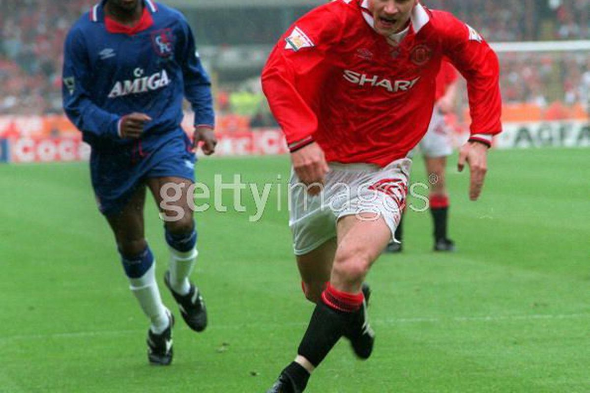 Andrei in full flight for United. via getty images