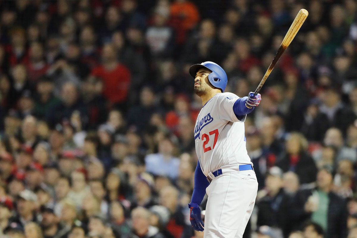 World Series - Los Angeles Dodgers v Boston Red Sox - Game One
