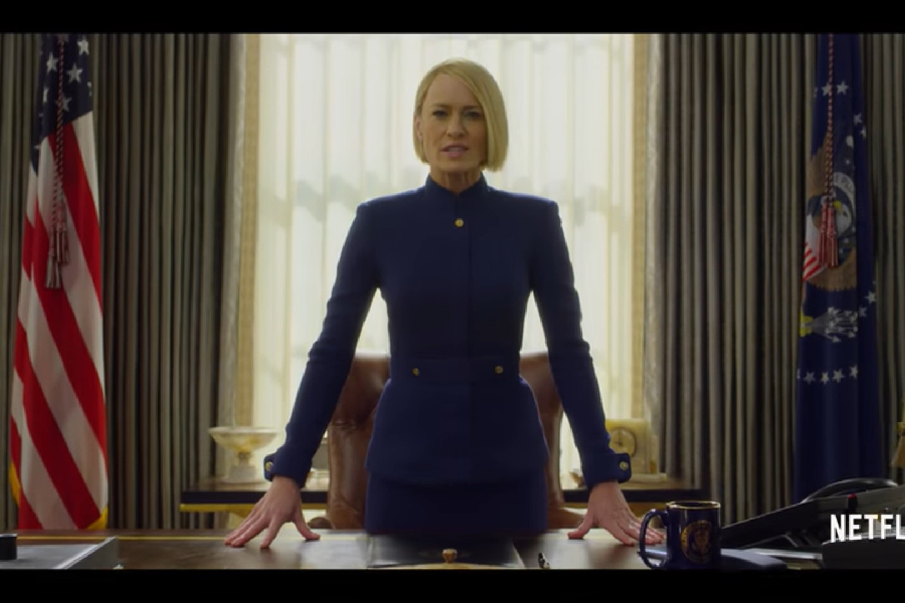 netflix s house of cards season six will focus on claire underwood s rule