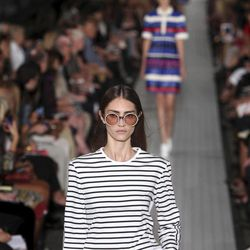 The Tommy Hilfiger Spring 2013 collection is modeled during Fashion Week in New York, Sunday, Sept. 9, 2012.