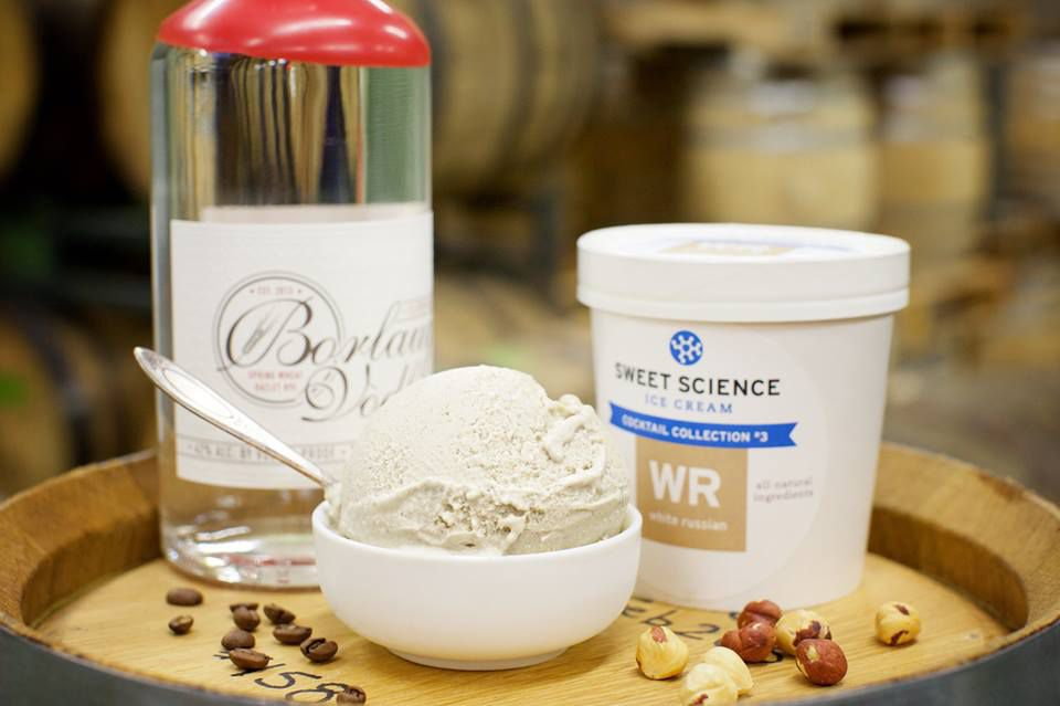 Ice cream, meet your new best friend, booze. Photo courtesy Sweet Science Facebook page