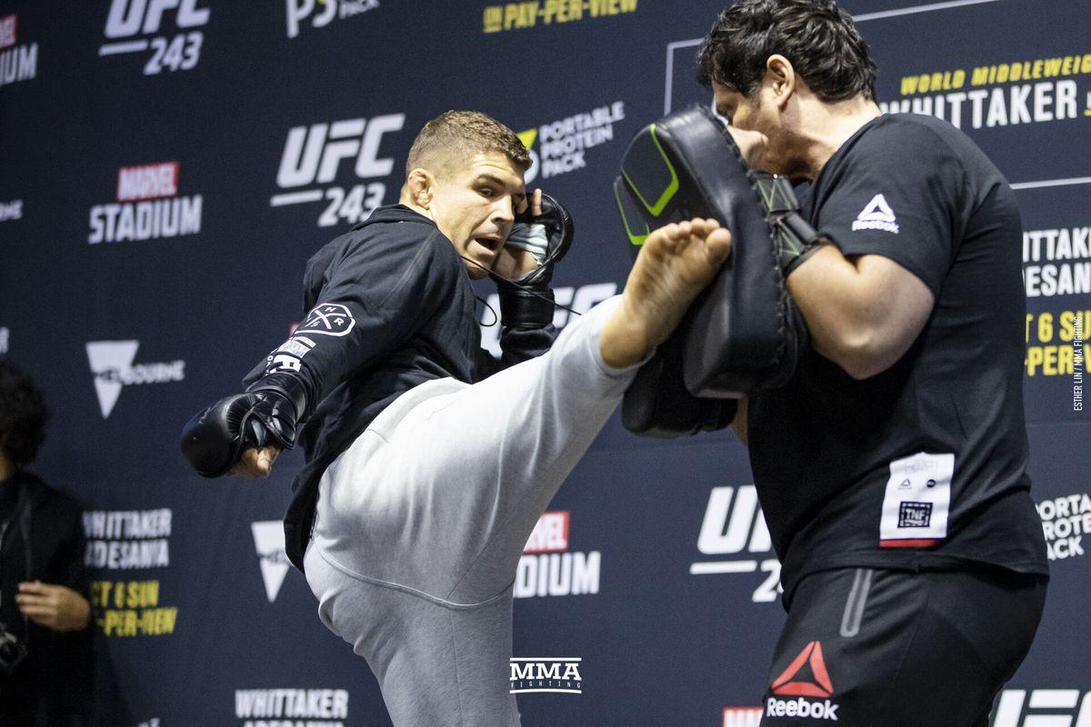 Coach: Al Iaquinta 'mentally bummed' after UFC 243 loss, 'leg is fine'