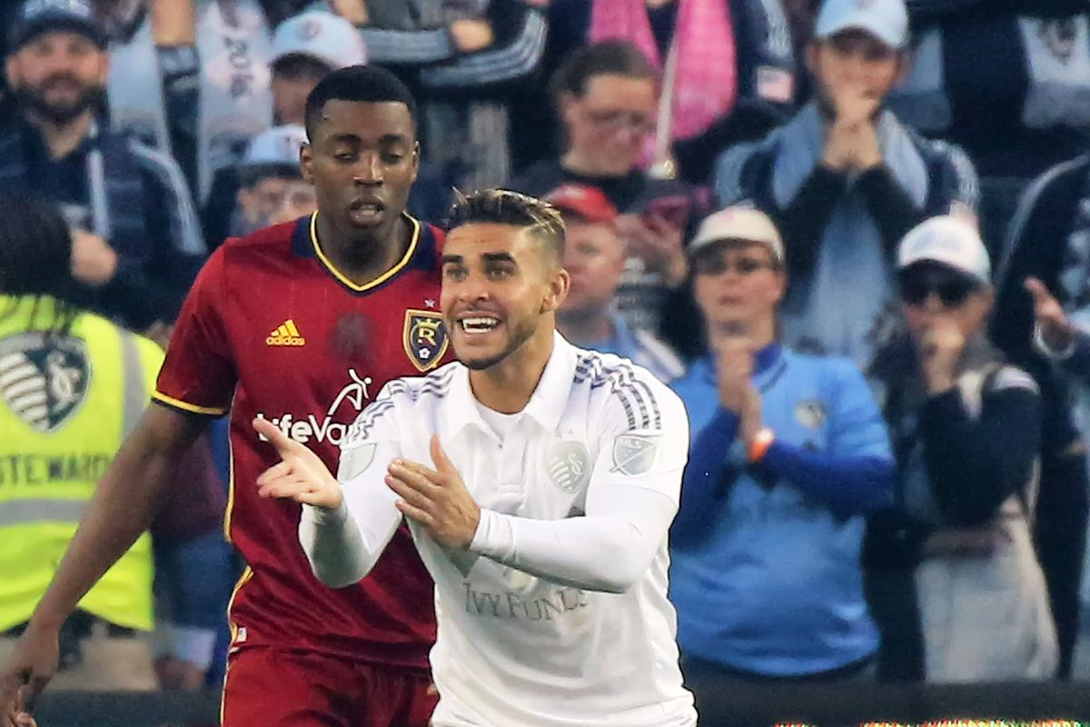 SOCCER: APR 02 MLS - Real Salt Lake at Sporting KC