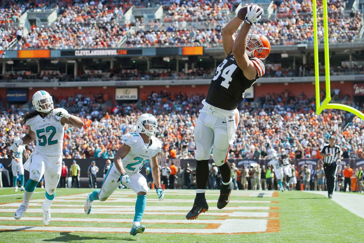 Jordan Cameron is poised for a big year.