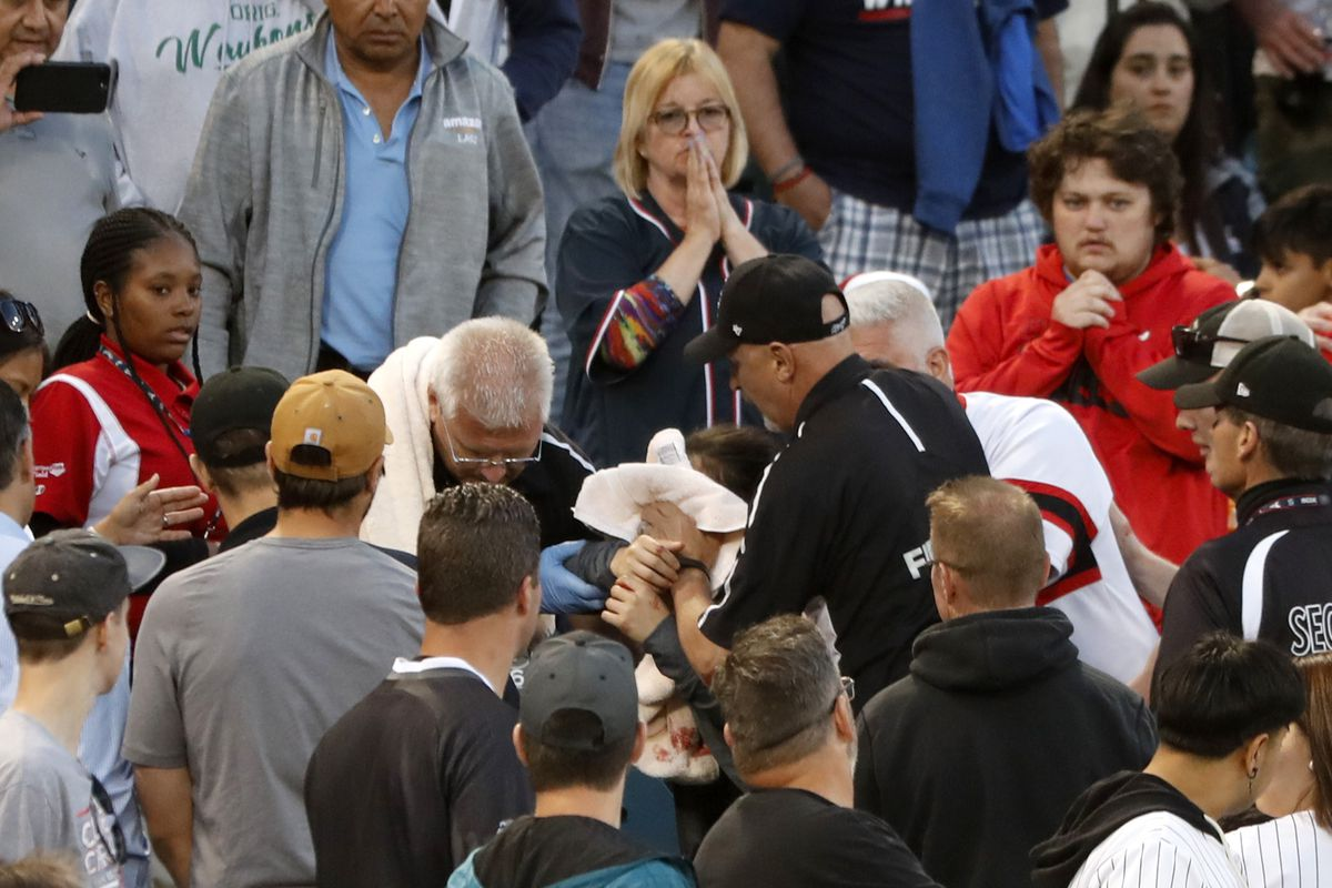 Fan struck by foul ball at White Sox game released from hospital