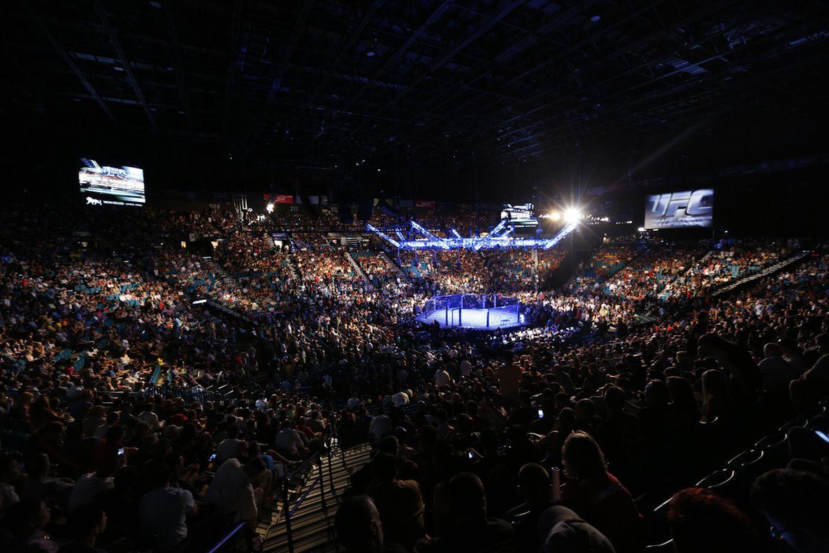 UFC returns to London on Mar. 21