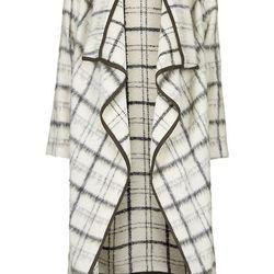 """Topshop textured blanket coat, <a href=""""http://us.topshop.com/en/tsus/product/clothing-70483/jackets-coats-2390895/premium-textured-blanket-coat-3461347?bi=1&ps=200"""">$280</a>"""