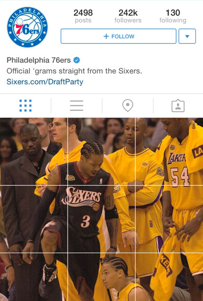 The Philadelphia Sixers immortalized the Allen Iverson step over in the  best way 4946eb49b