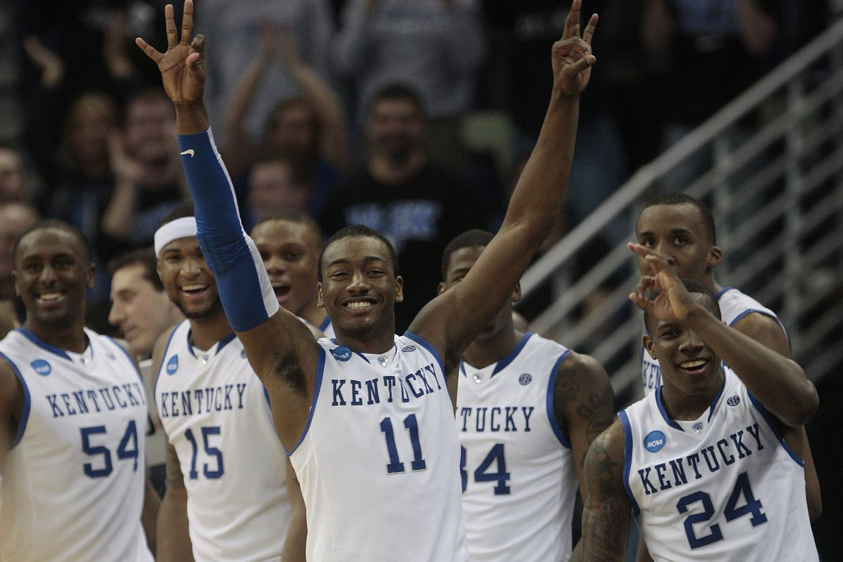 Kentucky Basketball Our First Look At The New Wildcats In: Kentucky Basketball: Details And Excerpt From New 'One And