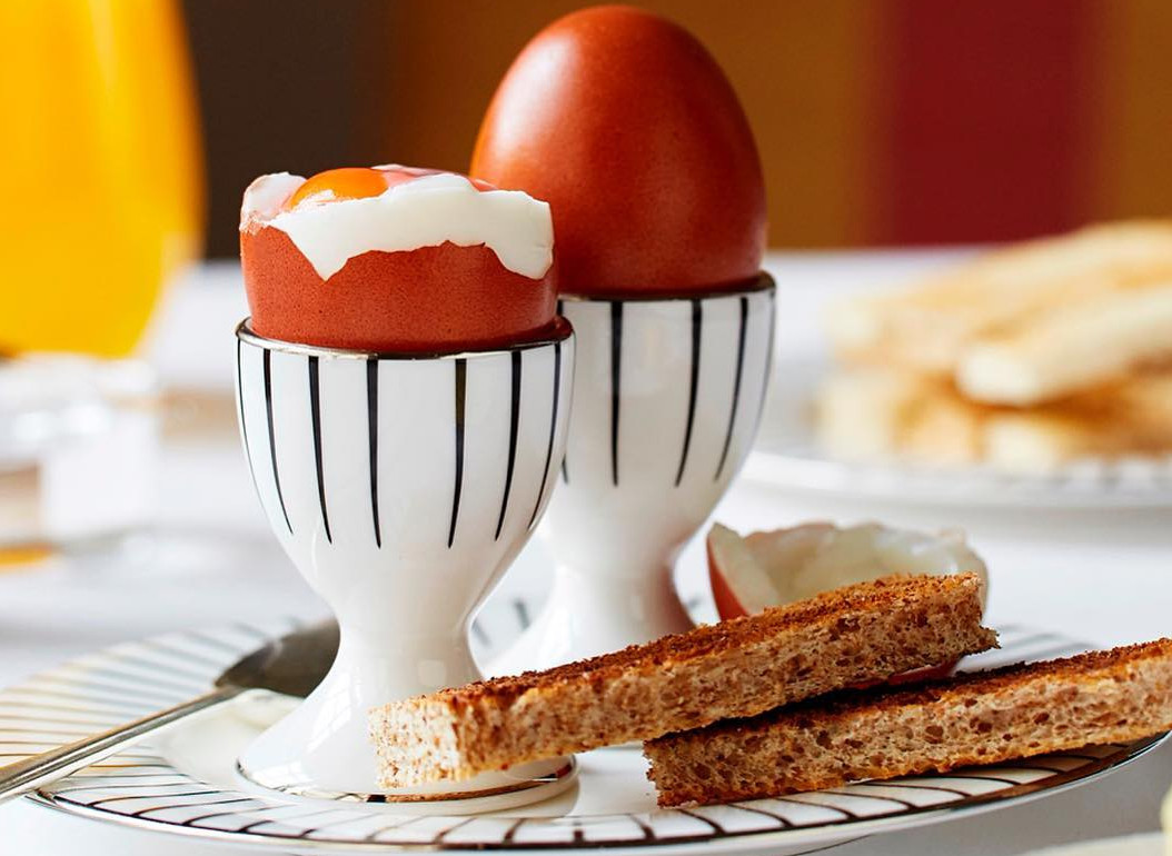 Eggs and soldiers at the Goring in Belgravia, one of the best places to visit for children in London