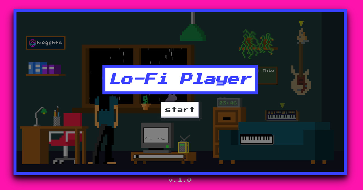 Google Magenta's Lo-Fi Player lets you create your own virtual music room – The Verge