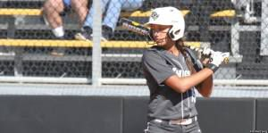 Linnea Goodman (2014-2017) holds UCF's school record with 5 hits in a 2017 win at Memphis. (Photo Courtesy of Jim Hartsing)
