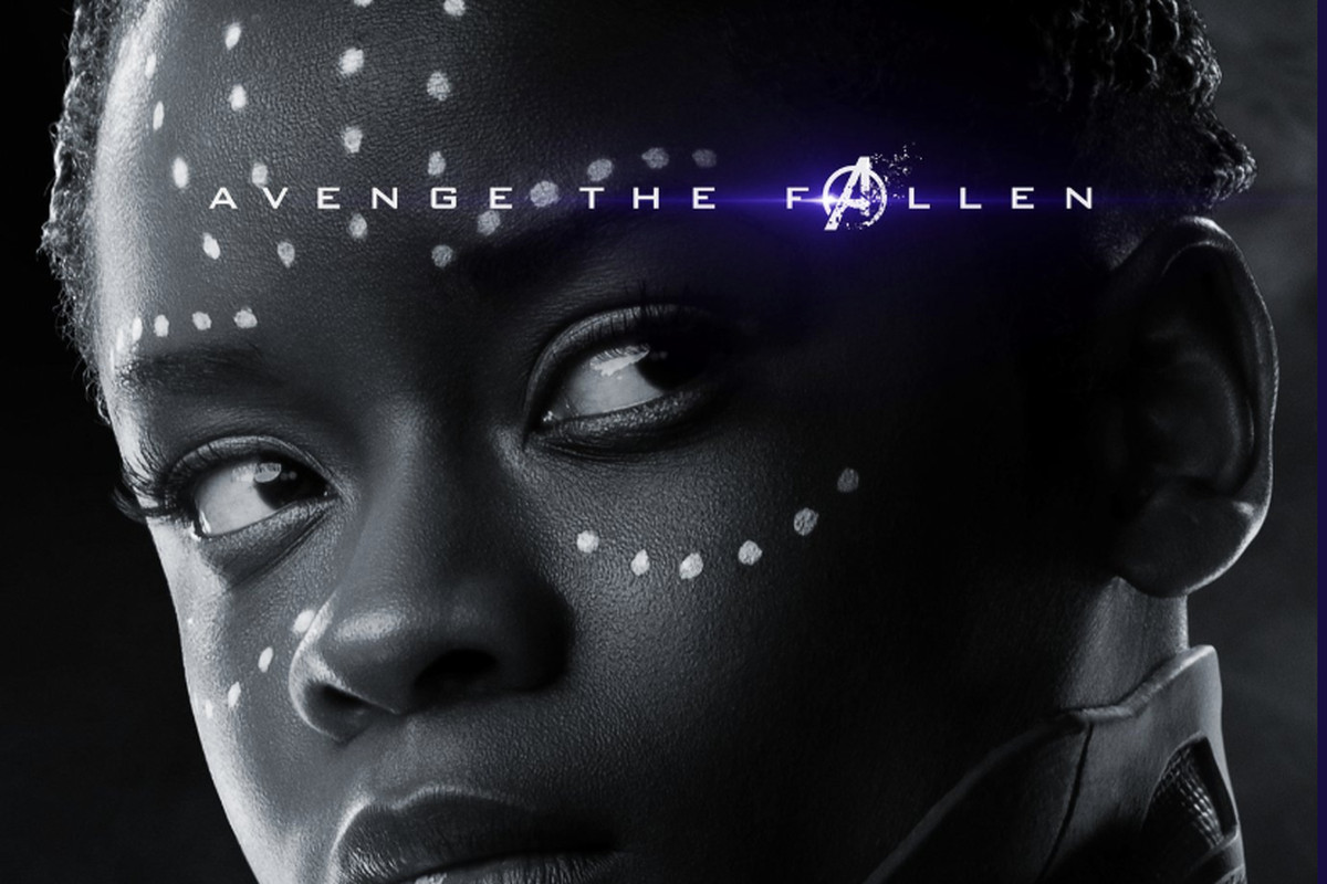 Image result for avengers endgame new poster shuri