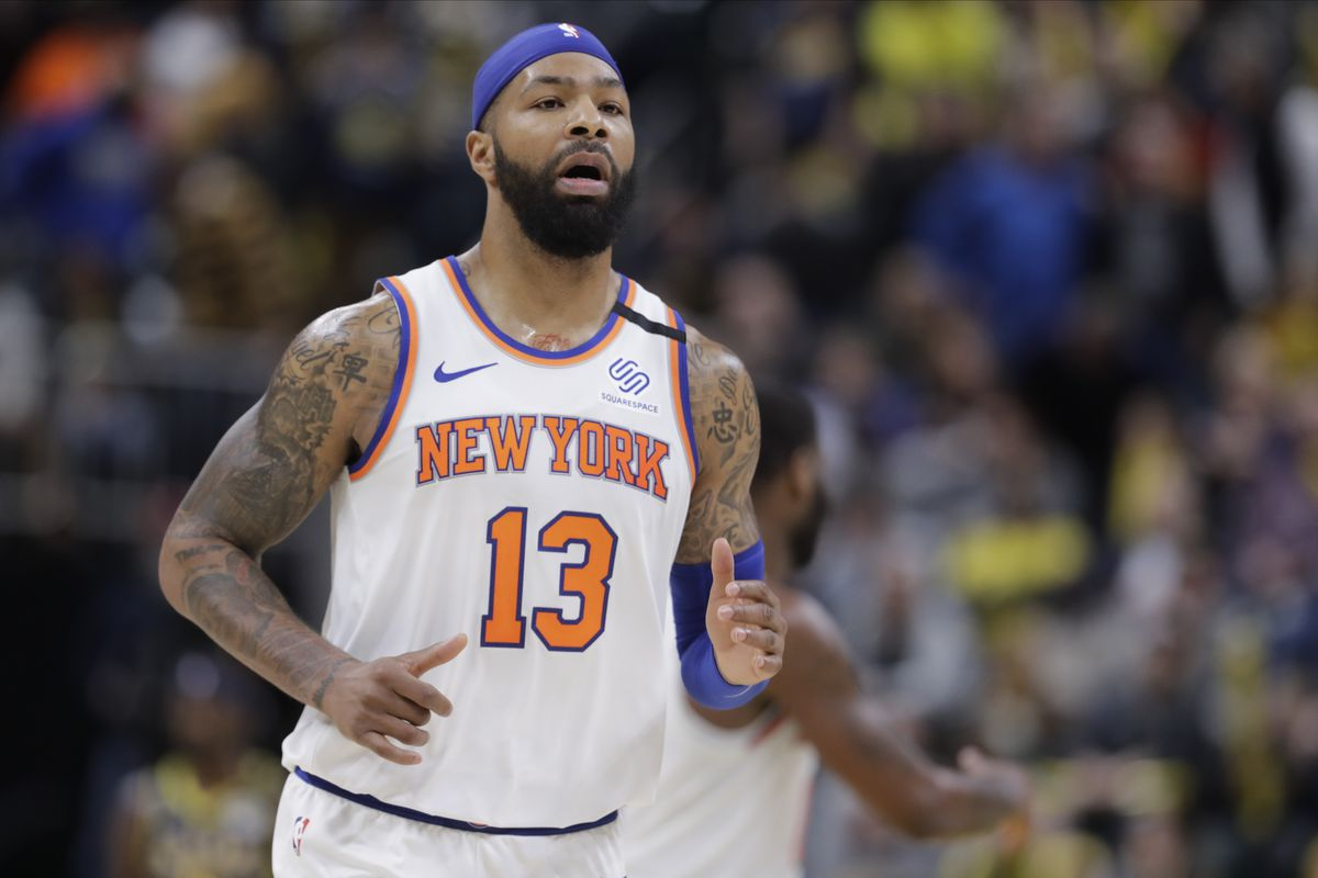 The Knicks sent Marcus Morris to the Clippers.