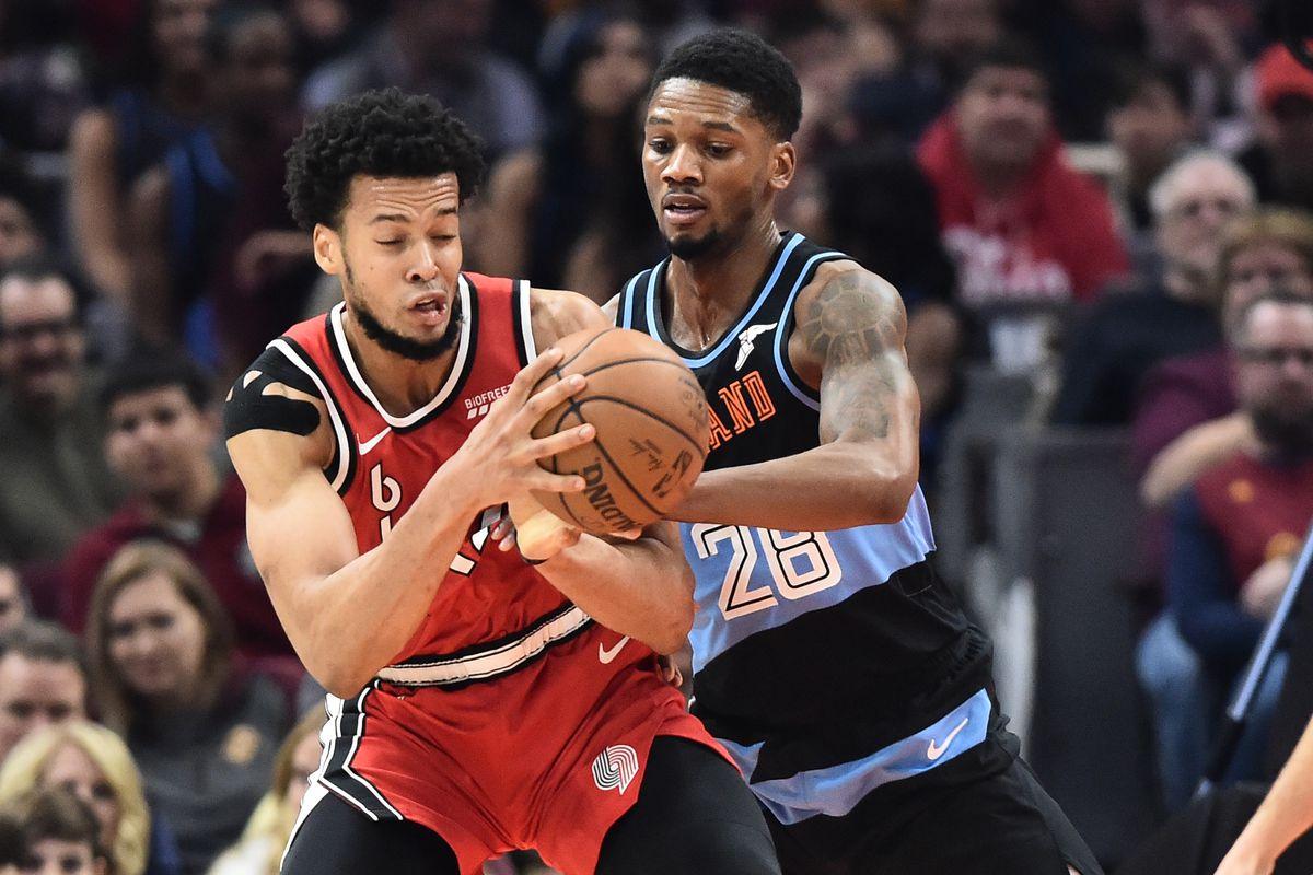 NBA: Portland Trail Blazers at Cleveland Cavaliers