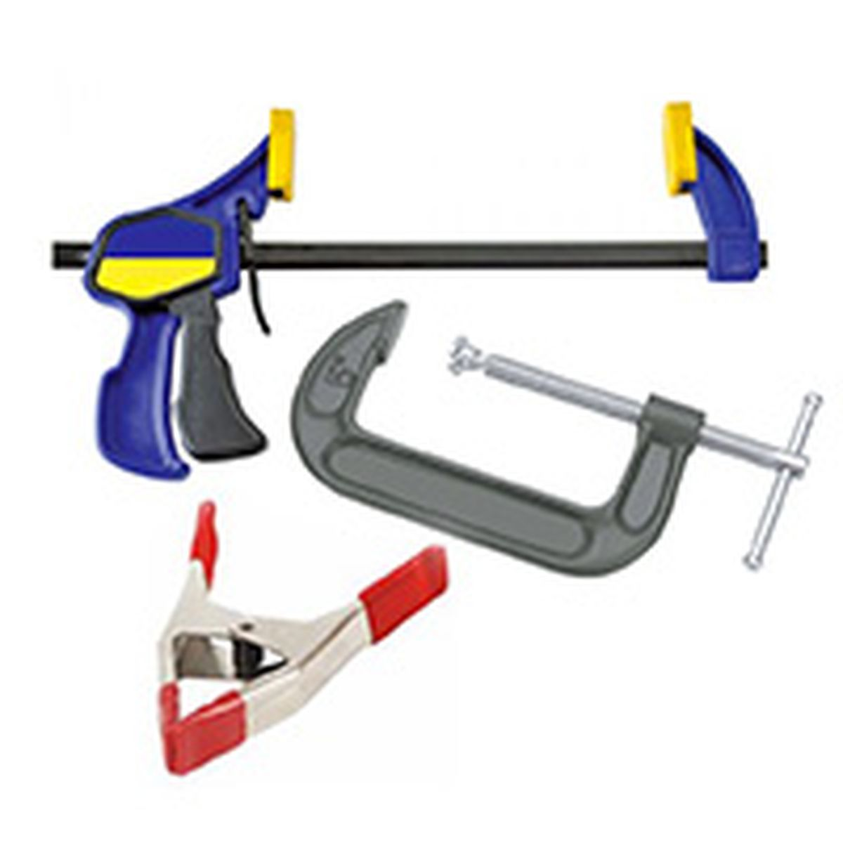 various clamps