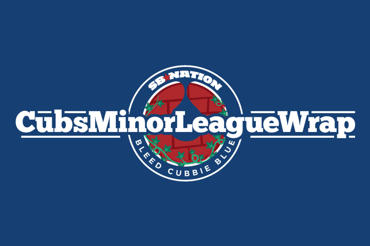 cubs minor league wrap logo