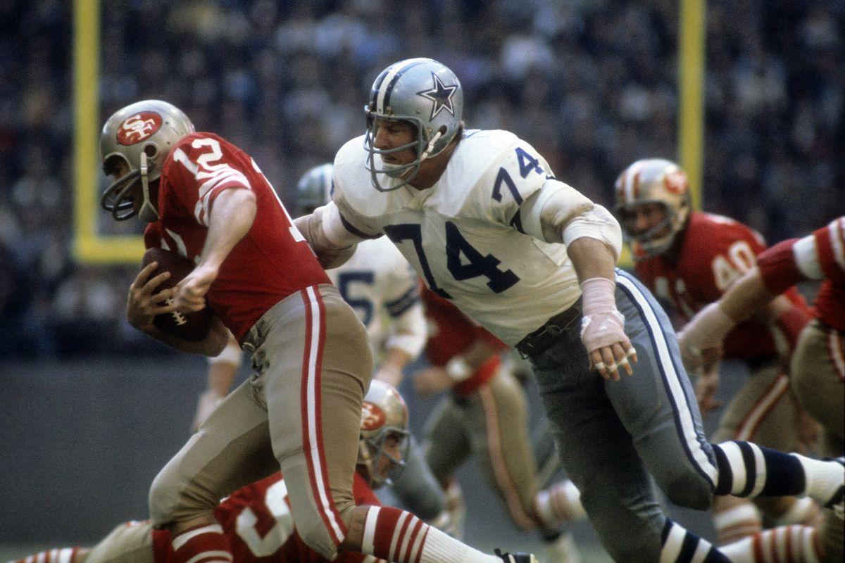 January 2, 1972: NFC Championship Game - San Francisco 49ers v Dallas Cowboys