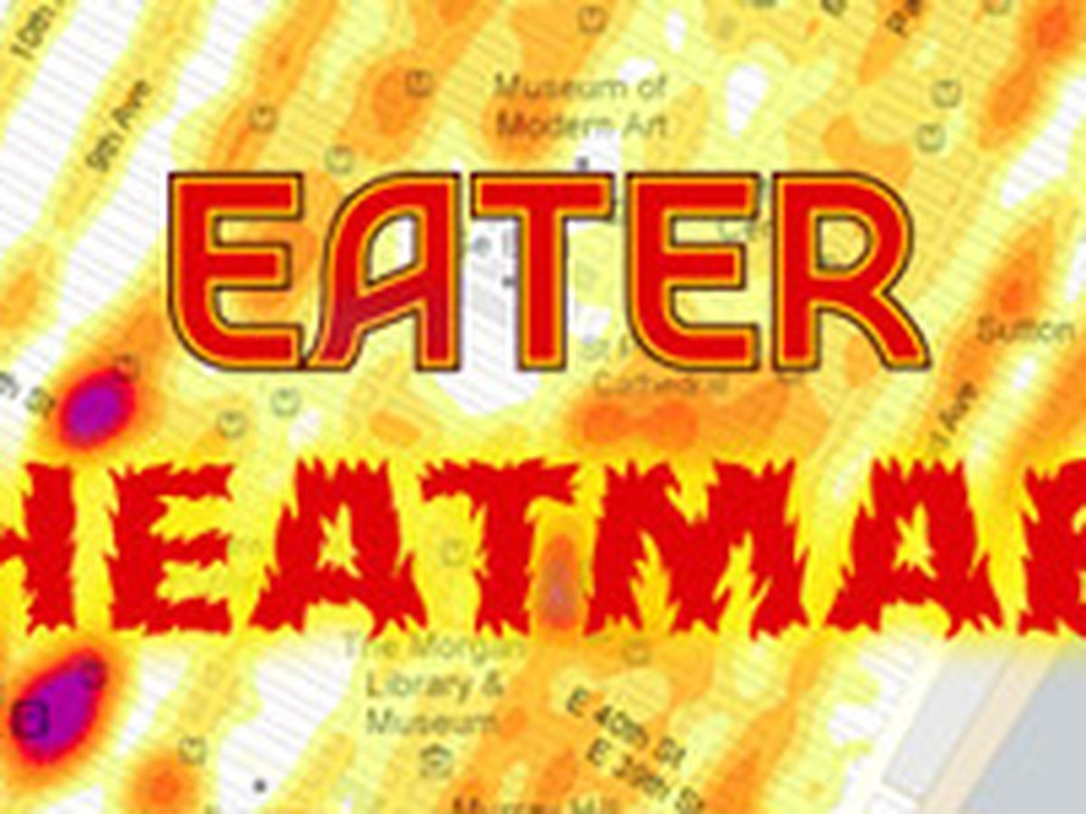 Eater Heat Map Updated Where People Are Eating Right Now Eater Miami