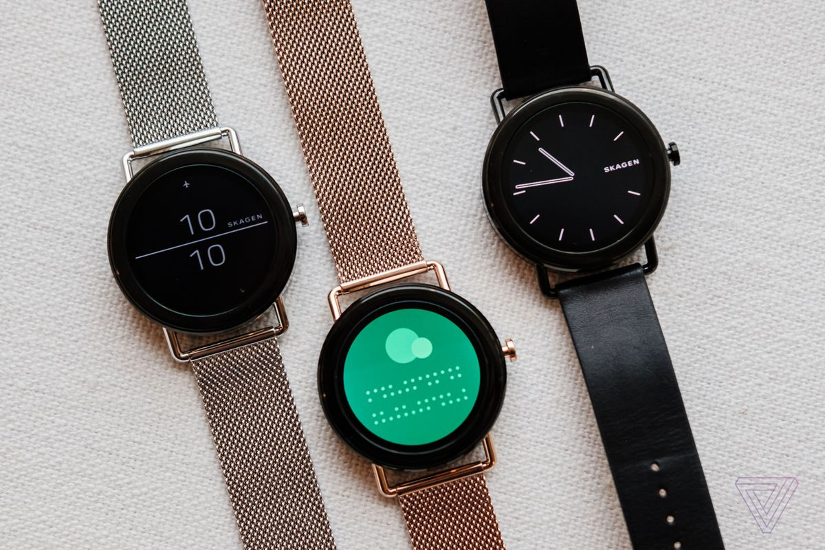Falster Skagen S First Touchscreen Smartwatch The Verge