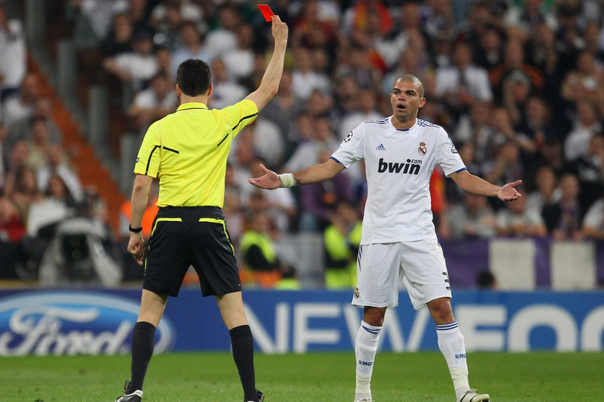 One of several incidents UEFA will take a look at.