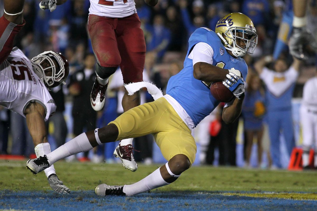 Phill Steele expects Jim Mora's Bruins to get to the Holiday Bowl in 2012. (Photo by Stephen Dunn/Getty Images)