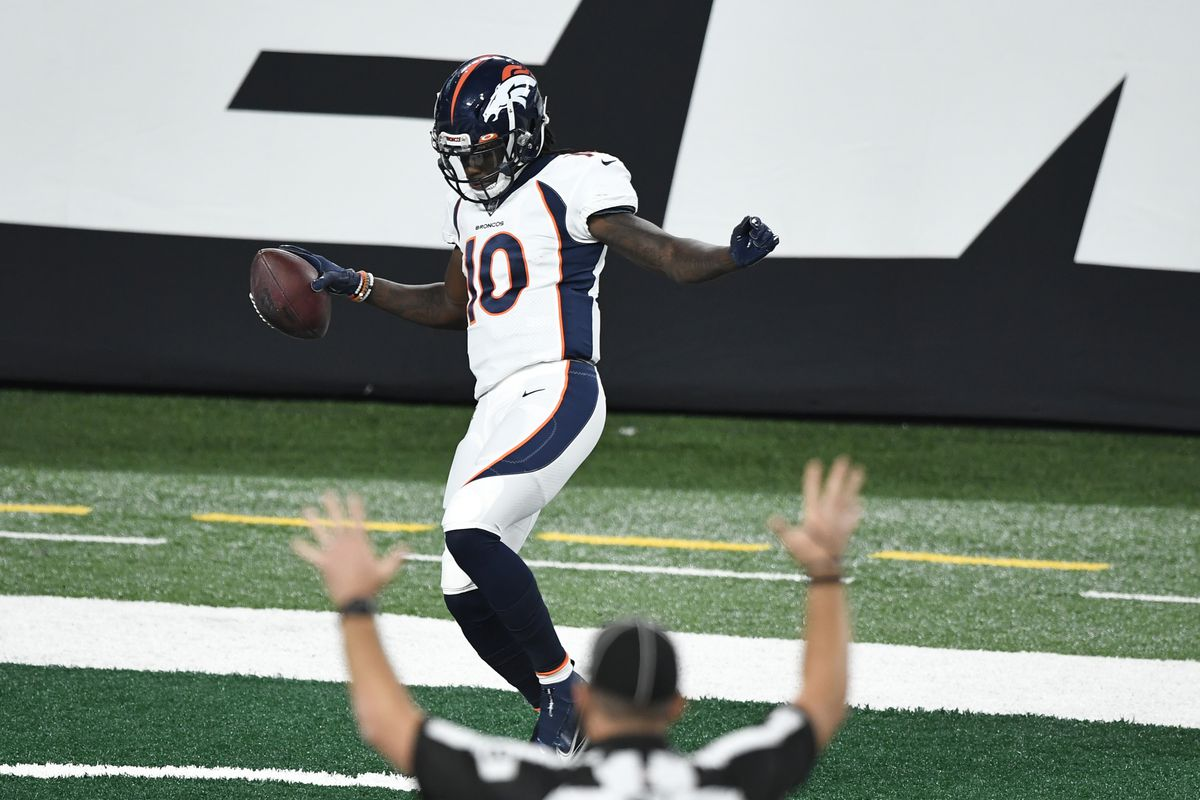 Game Balls For The Denver Broncos 37 28 Win Over The New York Jets Mile High Report