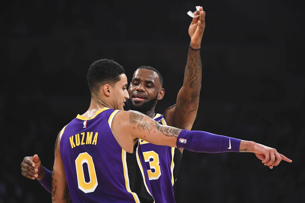 Kyle Kuzma motivated by playing for a historic organization like Lakers 1cc1998d6
