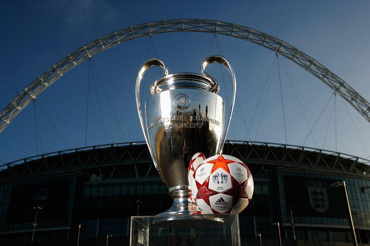 UEFA Champions League Final Ball Launch