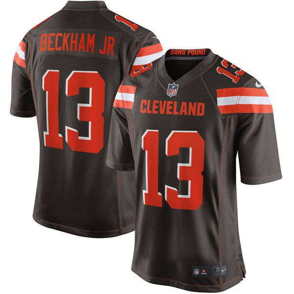 The Odell Beckham Jr. Cleveland Browns jerseys have dropped online  for sale