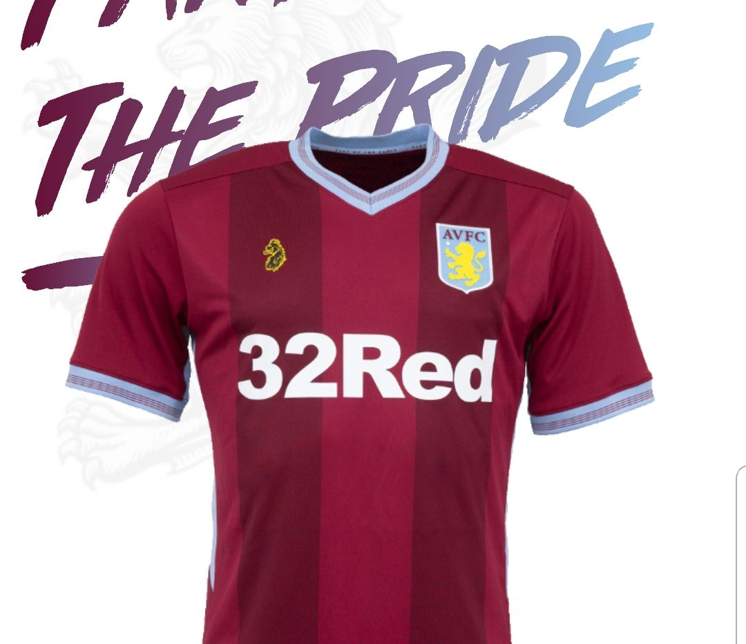 e4f22d94 Aston Villa unveil 2018/2019 kits designed by Luke Roper - 7500 To Holte