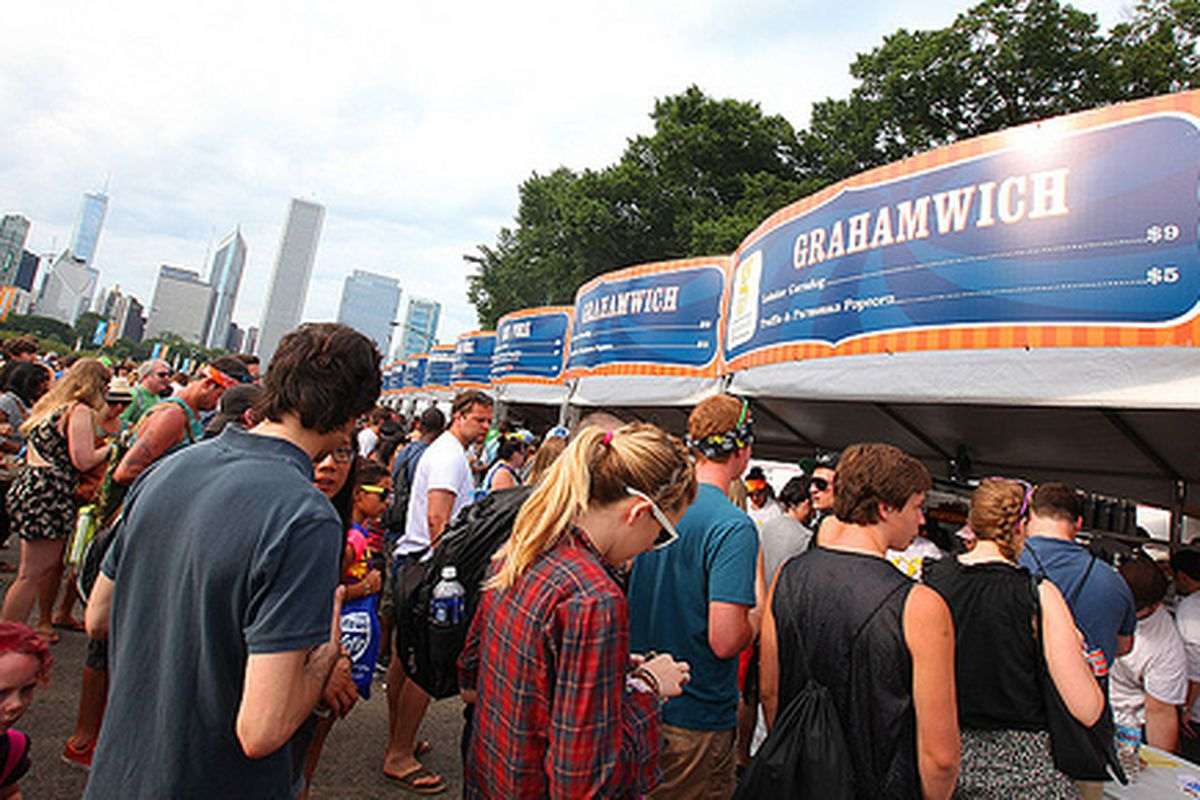 Lollapalooza Chow Town