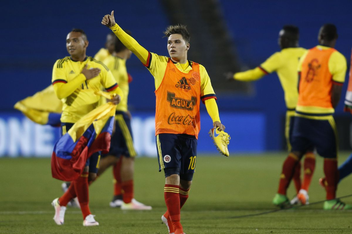 Soccer: 2016 Olympic Qualifying -Colombia at USA