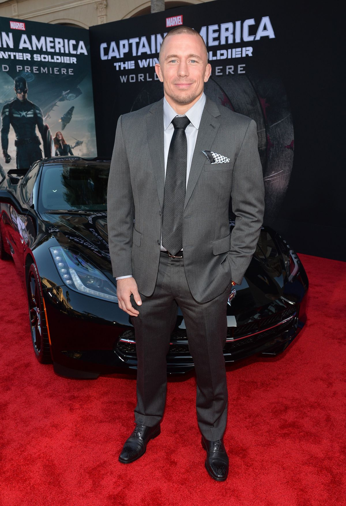 Marvel's 'Captain America: The Winter Soldier' Premiere - Red Carpet
