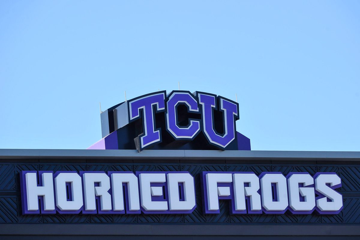 Sep 8, 2012; Fort Worth, TX, USA; A view of the renovated Amon G. Carter Stadium before the game between the TCU Horned Frogs and the Grambling State Tigers. TCU defeated Grambling State 56-0. Mandatory Credit: Jerome Miron-US PRESSWIRE