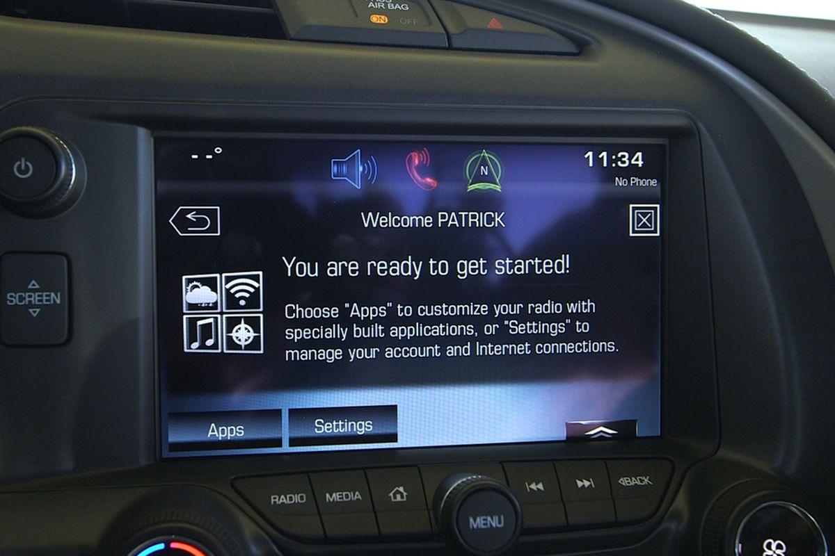Chevrolet AppShop hands-on