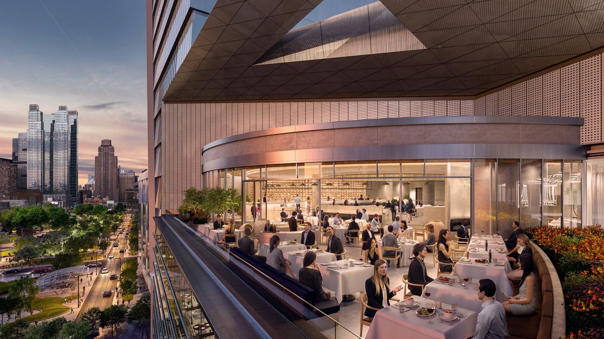 How Related Chose The Restaurants At Hudson Yards In Nyc