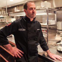 Chef de cuisine Mike Siegel.